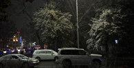 Снег в Бишкеке. Архивное фото