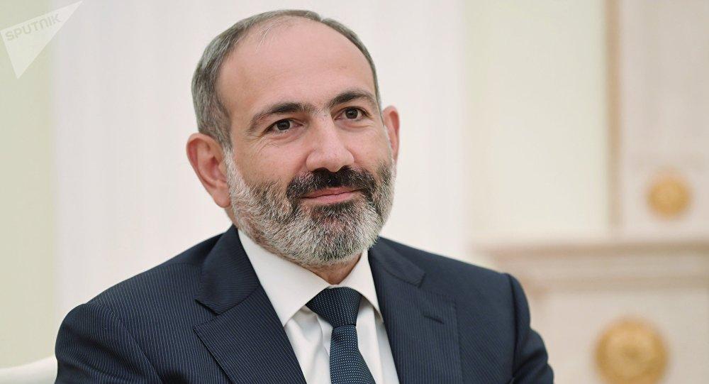 Архивное фото премьер-министра Армении Никола Пашиняна
