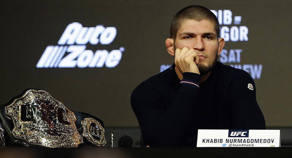 Боец UFC Хабиб Нурмагомедов