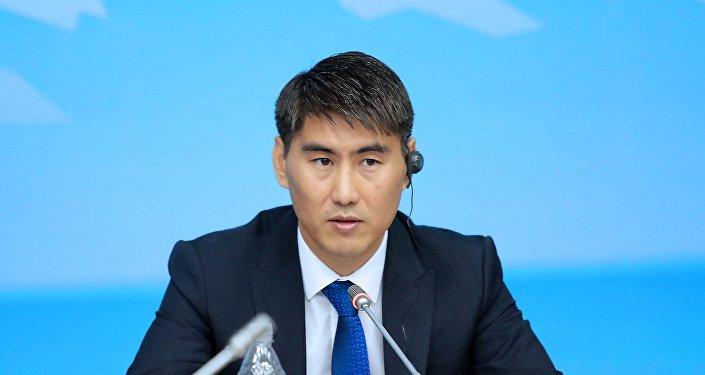 Министр иностранных дел КР Чынгыз Айдарбеков. Архивное фото