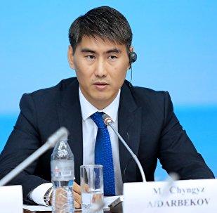 Архивное фото министра иностранных дел Кыргызстана Чынгыза Айдарбекова