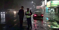 Как штрафовали пешеходов в Чуйской области — видео с рейда УОБДД