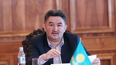 Кыргызстан фракциясынын лидери Алмазбек Баатырбековтун архивдик сүрөтү