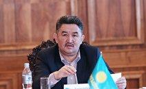 Первый вице-премьер-министр Алмазбек Баатырбеков. Архивное фото