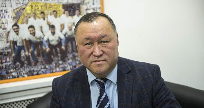 Председатель правления ОАО Государственная ипотечная компания Бактыбек Шамкеев. Архивное фото