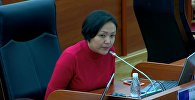 Депутат ТИМ башчысына талапкер Айдарбековду англисче сүйлөшүп сынады. Видео