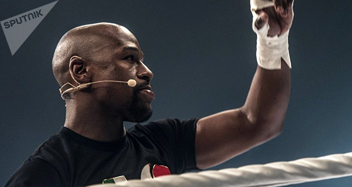 Американский боксер Флойд Мейвезер. Архивное фото