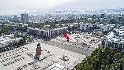 Бишкек шаарынын Ала-Тоо аянты. Архивдик сүрөтү