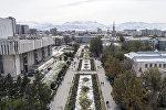 Бишкек мэриясынын имараты. Архивдик сүрөт