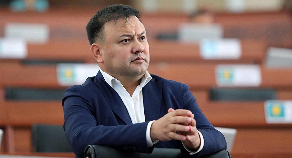 Жогорку Кеңештин депутаты Таабалды Тиллаев. Архив