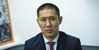 Бишкек мэриясынын Жер пайдалануу жана курулуш башкармалыгынын башчысы Азамат Сагындык уулу