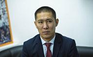 Вице-мэр Бишкека Азамат Сагындык уулу. Архивное фото