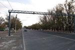 Установка камер фиксации на дорогах Балыкчи