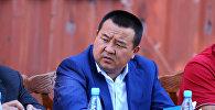 Экс-президент Алмазбек Атамбаевдин мурунку кеңешчиси Икрамжан Илмиянов. Архив
