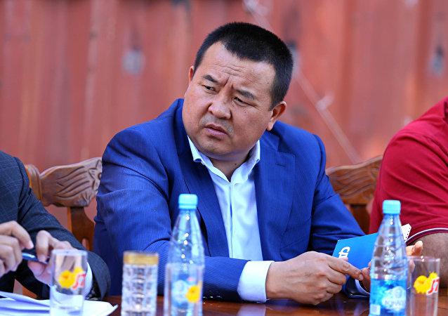 Бывший первый заместитель руководителя аппарата президента Икрамжан Илмиянов. Архивное фото