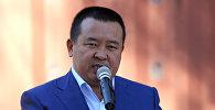 Мурдагы президент Алмазбек Атамбаевдин кеңешчиси, президенттин аппарат жетекчисинин экс-орун басары Икрамжан Илмиянов. Архивдик сүрөт