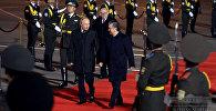 Визит Путина в Узбекистан