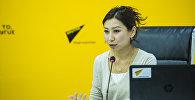 Пресс-секретарь информационного агентства и радио Sputnik Кыргызстан Нуржан Найзабекова дала мастер-класс студентам Кыргызского национального и Бишкекского гуманитарного университетов, а также КТУ Манас