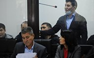Экс-депутат Жогорку Кенеша Дамирбек Асылбек уулу в суде в Алмате. Архивное фото