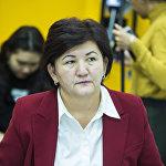 Начальник управления по контролю за земельными ресурсами Госэкотехинспекции Гульзада Ибраимова