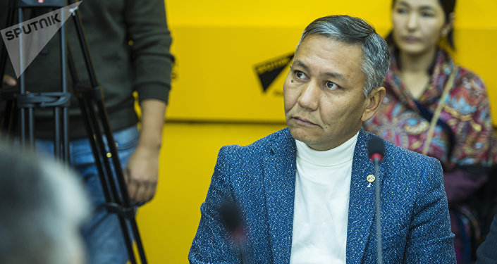 Эйр Манас авиакомпаниясынын финансы боюнча директорунун орун басары Данияр Арынов