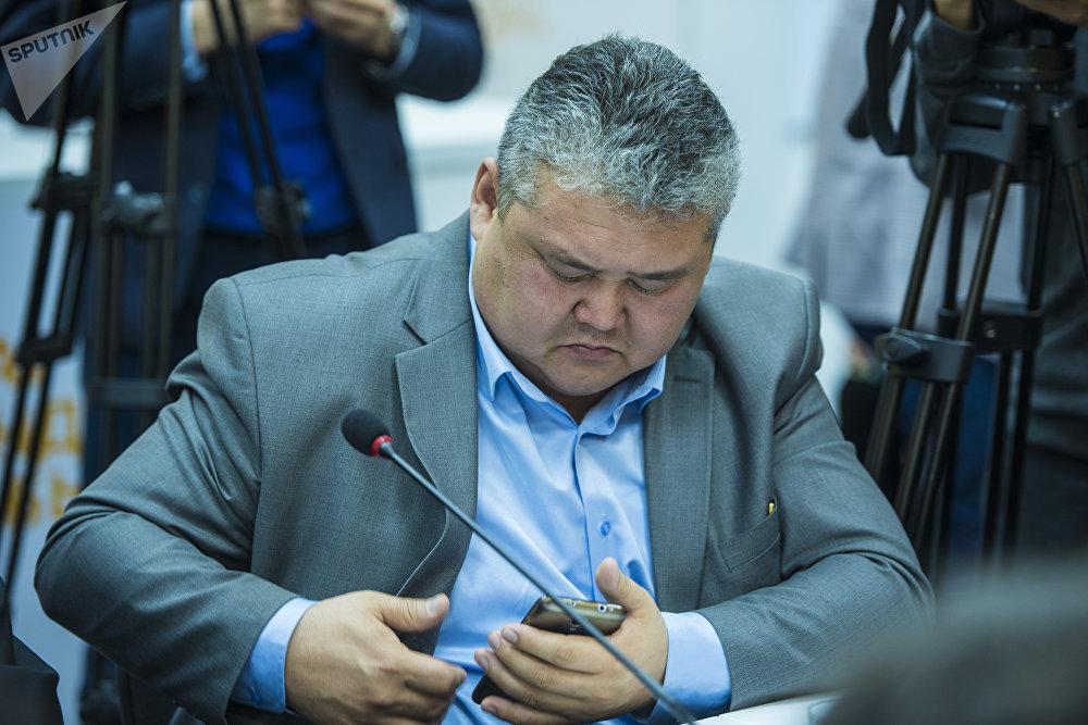 Начальник инспекции по безопасности Авиа Траффик компани Сталбек Шаршеев