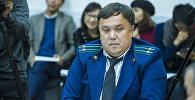 Представитель Транспортной прокуратуры Рустам Кожобеков на круглом столе в пресс-центре Sputnik Кыргызстан