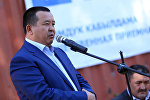 Экс-президент Алмазбек Атамбаевдин коомдук башталгычтагы кеңешчиси Икрамжан Илмияновдун архивдик сүрөтү