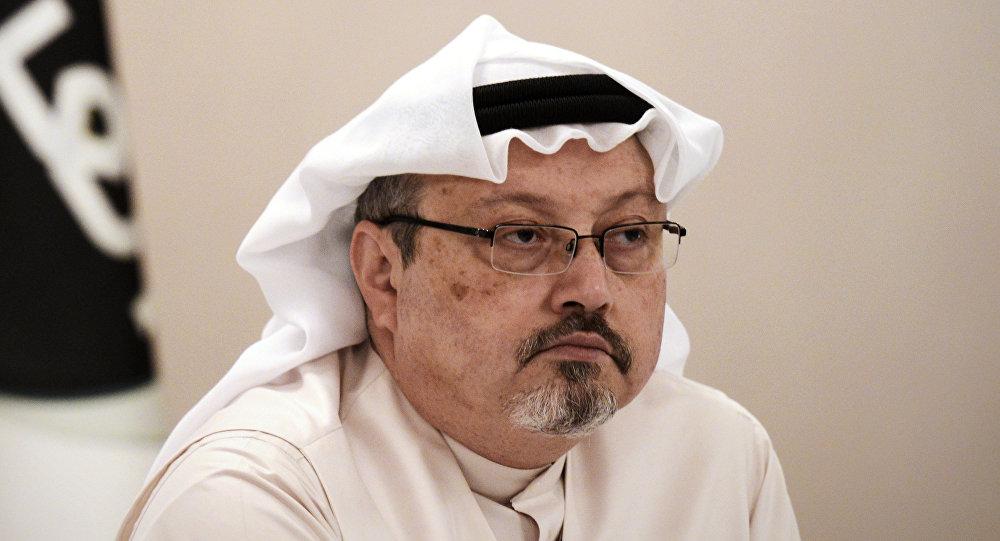 Сауд Аравиялык журналист Жамал Хашукджинин архивдик сүрөт
