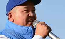 Бывший советник экс-президента Алмазбека Атамбаева Икрамжан Илмиянов. Архивное фото