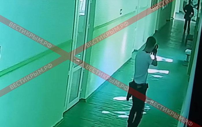 Опубликовано шокирующее видео нападения на людей в керченском колледже