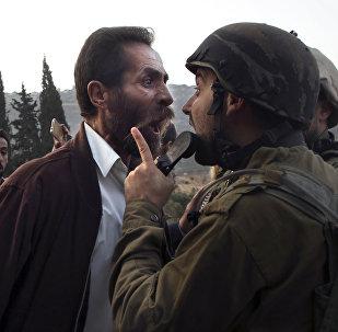 Закрытие палестинской школы в городе Ас Савия