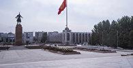 Площадь Ала-Тоо в Бишкеке. Архивное фото