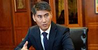 Кыргызстандын тышкы иштер министри Чыңгыз Айдарбеков. Архивдик сүрөт
