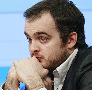 Архивное фото заместителя руководителя экономического департамента Института энергетики и финансов Сергея Кондратьева