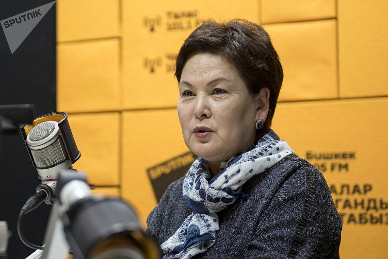 Председатель ассоциации экспортеров и импортеров Кыргызлэнд Ленара Ниязбекова