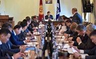 Плановое совещание под председательством градоначальника Азиза Суракматова