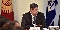 Мэр Бишкека Азиз Суракматов. Архивное фото