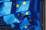 Европа биримдигинин желеги. Архивдик сүрөт