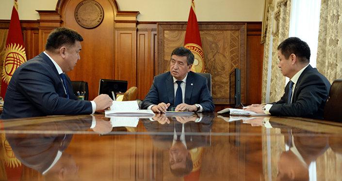 Президент Кыргызстана Сооронбай Жээнбеков раскритиковал Министерство сельского хозяйства, пищевой мелиорации и промышленности страны из-за ситуации с ценами на картофель
