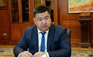 Министр сельского хозяйства, пищевой мелиорации и промышленности Нурбек Мурашев. Архивное фото