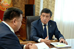 Президент Сооронбай Жээнбеков