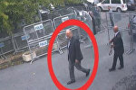 Түркияда каза болгон журналист Жамал Хашукджи Сауд Аравия элчилигинин аймагына кирип атканда