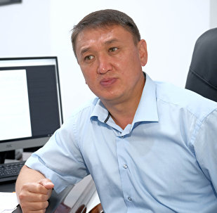 Председатель Госкомитета информационных технологий и связи Бакыт Шаршембиев. Архивное фото