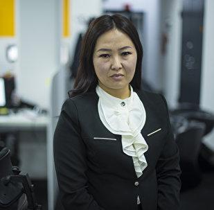 Маданият, маалымат жана туризм министрлигинин маалымат катчысы Айнура Асанбаева