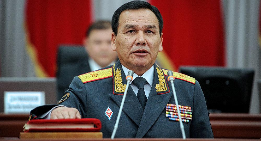 ИИМ башчысы Кашкар Жунушалиев. Архив