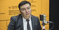 Бишкек мэриясына караштуу муниципалдык мүлк башкармалыгынын жетекчиси Талант Иманакун уулу