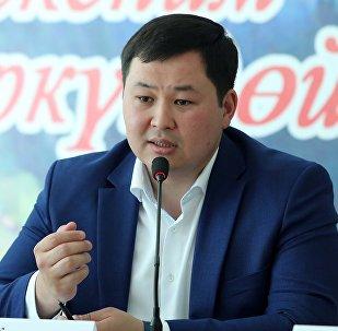 MegaCom компаниясынын башчысы Акылбек Жамангулов. Архив