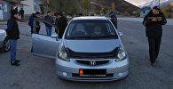 Грабеж на трассе Бишкек — Ош