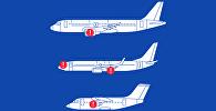 Кыргызстандык авиакомпаниялардын кудайлаткан учактары